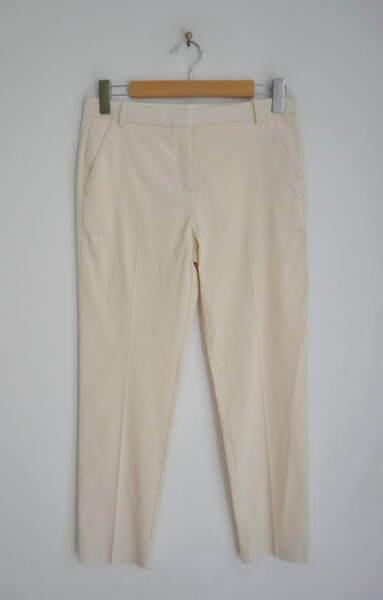 Еластичен дамски панталон - бежов (второ качество)