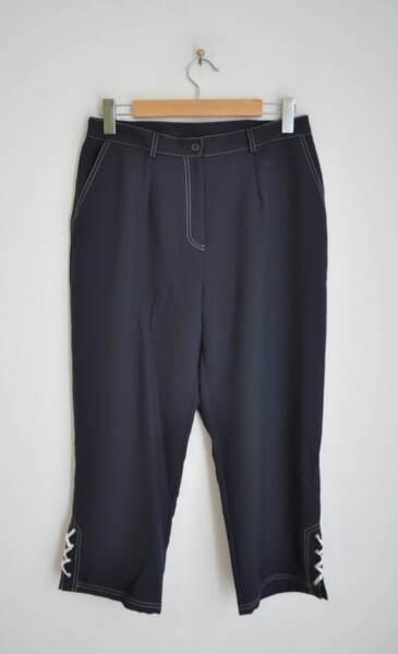 Дамски 7/8 панталон с контрастен шев