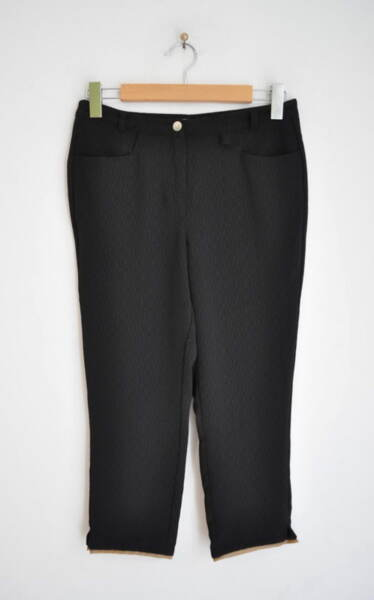 Дамски 7/8 панталон с кожен паспел (второ качество)