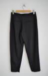 Дамски панталон с удължен колан - черен