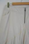 Разкроена дамска пола с метален цип (второ качество)