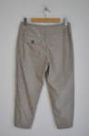 Дамски панталон с широк колан - бежов