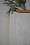 Дамски панталон  с изчистен силует - бял