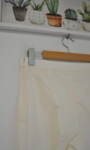 Дамски панталон  с изчистен силует - екрю