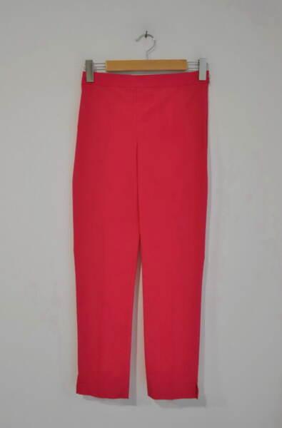 Дамски панталон  с изчистен силует - циклама
