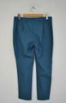 Дамски панталон  с изчистен силует - тюркоаз