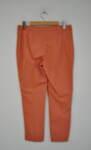 Дамски панталон  с изчистен силует - оранжев