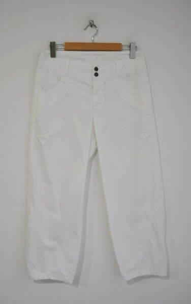 Спортен дамски панталон в бяло (второ качество)