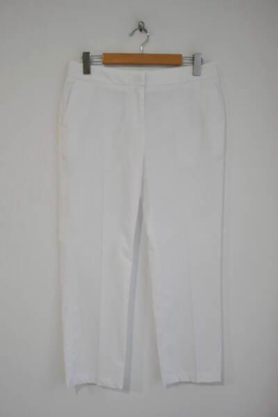 Дамски панталон с изчистен силует и джоб (второ качество)