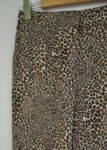 Дамски 7/8 панталон с леопардов принт