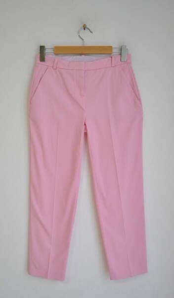 Дамски розов панталон с италиански джоб