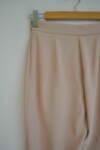 Дамски панталон в изчистен силует - бежов