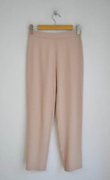 Дамски панталон в изчистен силует - бежов (второ качество)