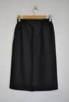 Черна дамска пола с ластик на талията