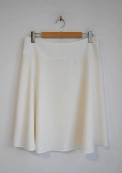 Разкроена дамска пола с широк колан