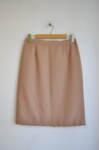 Дамска права пола в цвят капучино