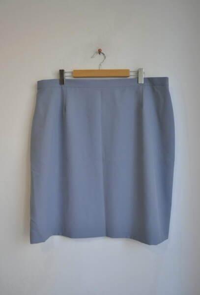 Дамска права пола в синьо-сив цвят (второ качество)