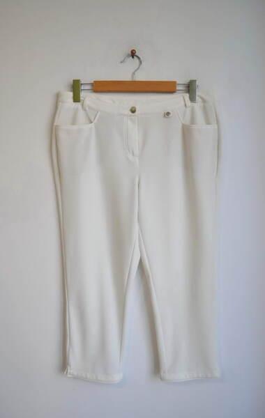Дамски 7/8 панталон в екрю (второ качество)