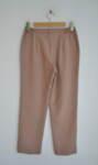 Прав дамски панталон в цвят капучино