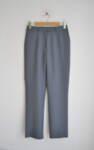 Дамски панталон с прав силует в сив цвят (второ качество)