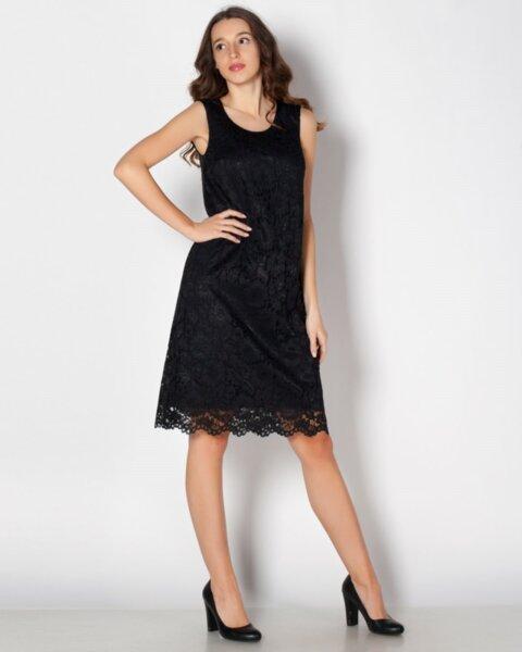 Cveta - малка черна рокля от дантела (второ качество)