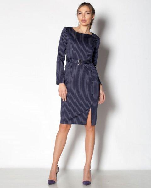 Rema - стилна дамска рокля във втален силует (второ качество)