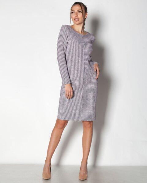 Iskrena - плътна спортно-елегантна дамска рокля (второ качество)