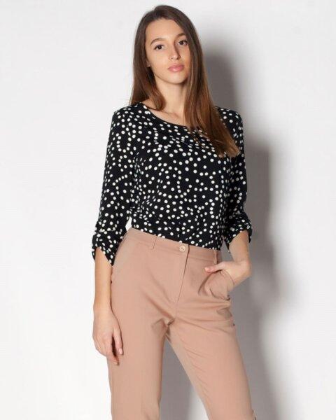 Tamira - дамска блуза с обло деколте (второ качество)
