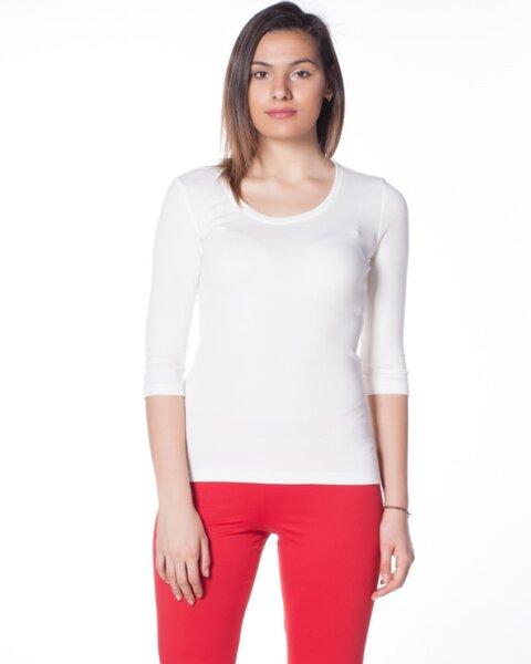 Ежедневна дамска блуза с 3/4 ръкав (второ качество)