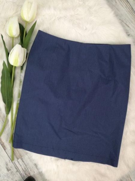 Синя къса пола