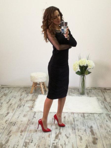 Стилна дамска рокля - Mission