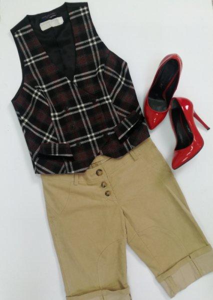 Къси панталони от кадифе