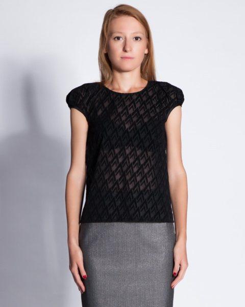 Дамска блуза в черно - Remy v10