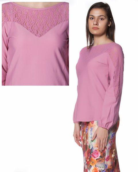 Дамска блуза - розова - Cassidy v12