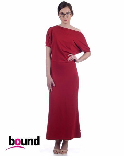 Ефектна дамска рокля в свободен силует - Cristy v42