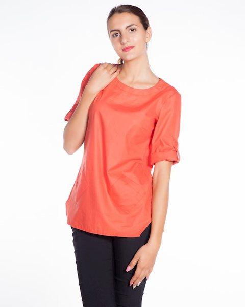 Дамска блуза в оранжево - Street