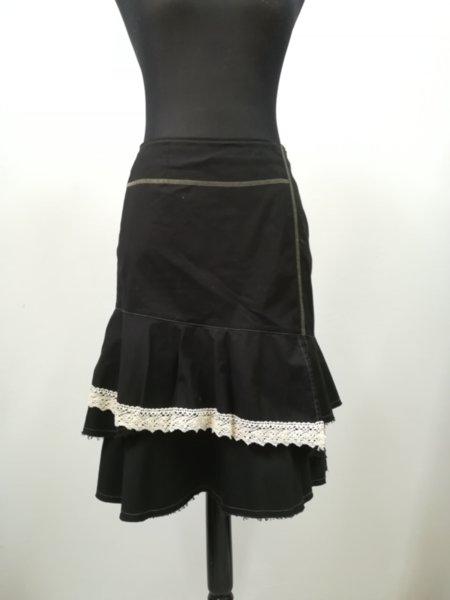 Асиметрична памучна пола