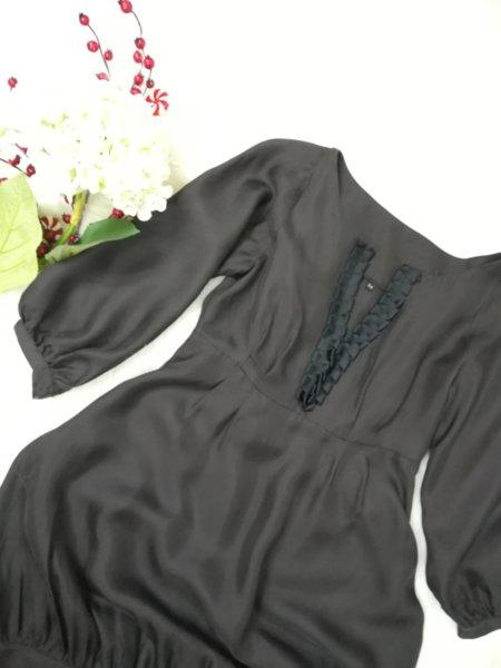 Копринена рокля/тунка в кафяво