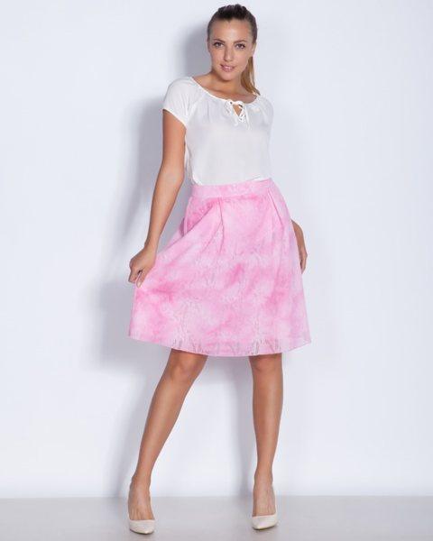Разкроена пола в розово - Radost