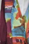 Дамски елек с топли цветове