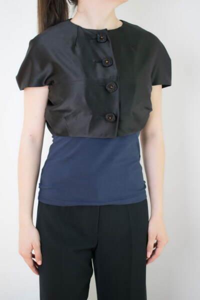 Дамско болеро в черен цвят