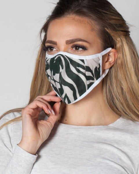 Милитъри антибактериална маска с 5 броя сменяеми филтри със сребърни йони  ProMask Flexy 5