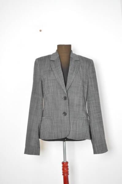 Дамско сако в сив меланж