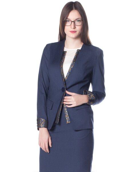 Стилно дамско сако - Yoline