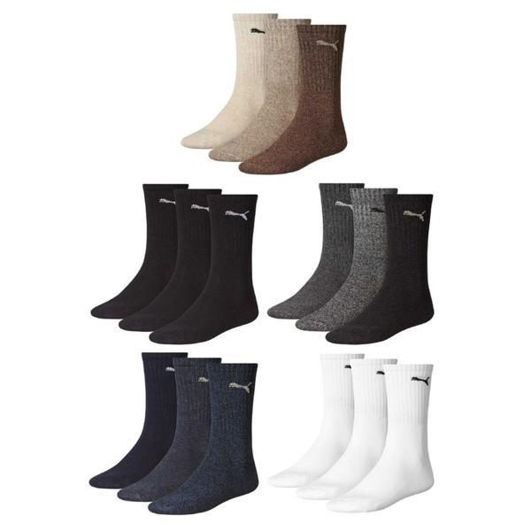 Чорапи Puma Sports Crew Socks Pack of 3