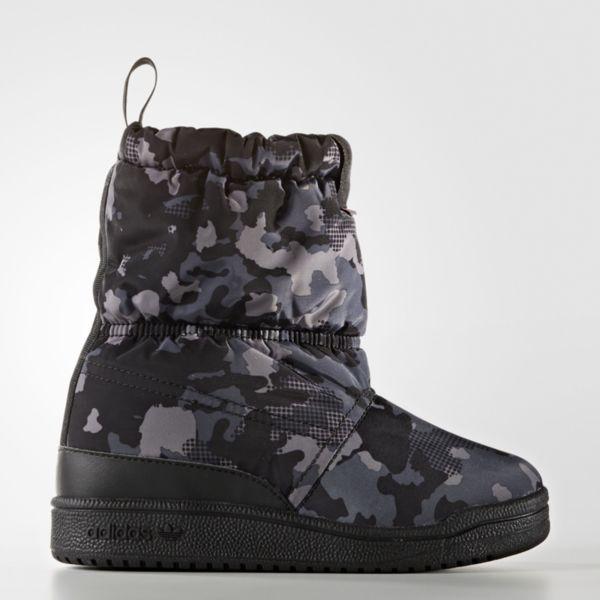 Детско - юношески ботуши Adidas Slip On Boot C