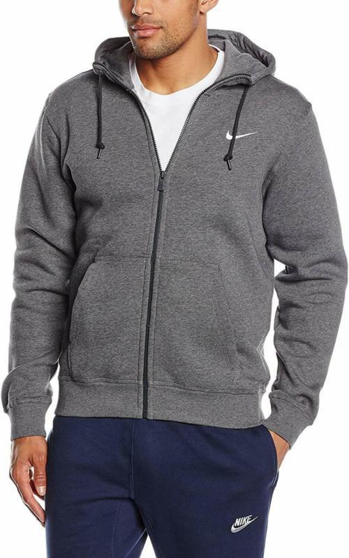 Мъжки суитшърт Nike Club Swoosh Full Zip