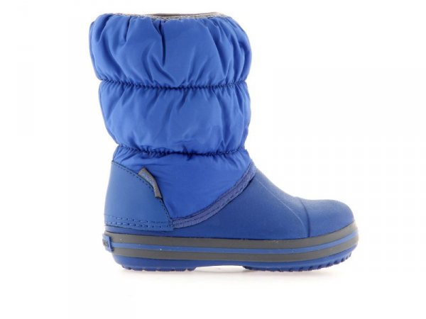Crocs Puff Boot K CrBl/Lgr