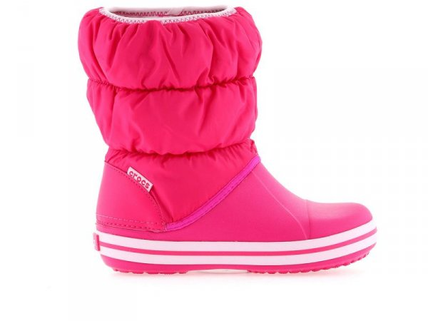 Crocs Puff Boot K Cdy Pink
