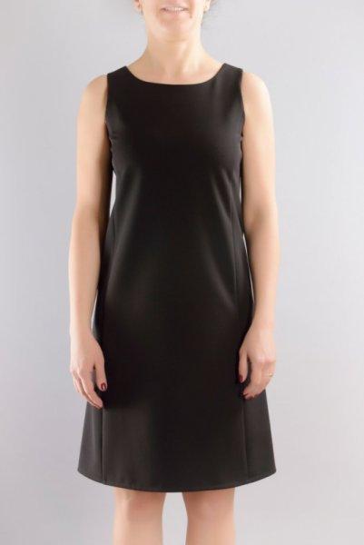 Ретро рокля с трапецовиден силует